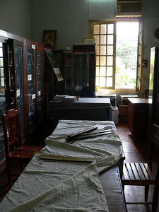 Manuscripts Room, Laos National Library